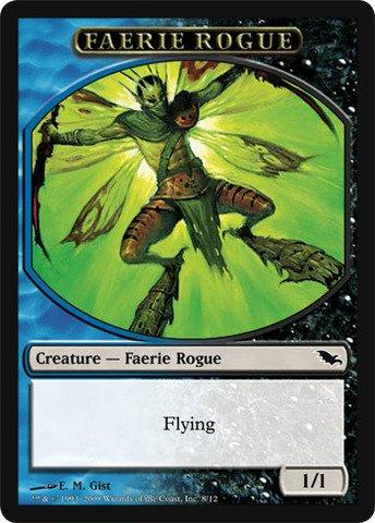 Magic The Gathering - Faerie Rogue Token - Shadowmoor
