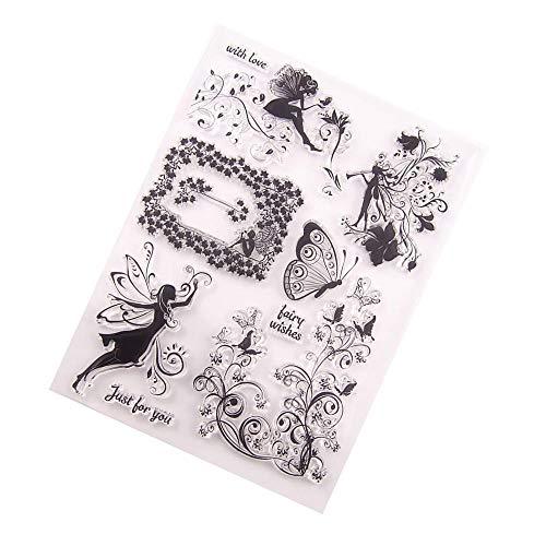 Lecimo 2pcs DIY Handkonto Sammelalbum fertigen Stempel Nice Use Fashion