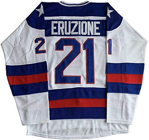 #21 Mike Eruzione 1980 Miracle On Ice Hockey 17 Jack O
