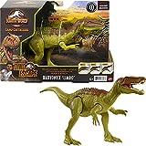 Jurassic World Ruge y Ataca Baryonyx Dinosaurio figura articulada de juguete con sonidos Mattel GWD1...