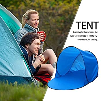 Abris de Plage, Automatic Portable Pop Up Beach Tent, Anti UV Sun Shelter for Kids and Family in Beach Garden Camping Fishing Picnic Hiking 142 x 72 x 60cm