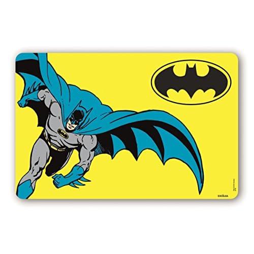 Excelsa Batman Tovaglietta, Giallo, Spessore: mm. 0,5, 44 x 29 cm