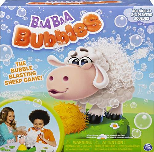 Spin Master Games 6054455 - Baa Baa Bubbles - Seifenblasen - Spiel für die ganze Familie