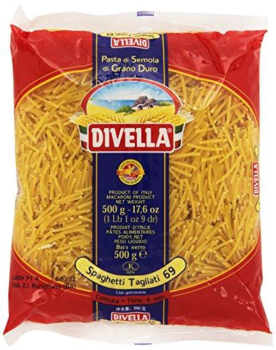 Divella - Spaghetti Tagliati 69, Pasta di Semola di Grano Duro , 500 g