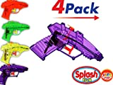 2GoodShop Water Gun (4 Pack) Toy Squirt Gun Summer Fun| Item #858-1
