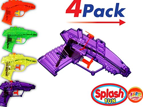 Water Squirt Toys (4 units in 1 Pack) Toy Water Squirting Fun for Parties. Great Dog and Cat Training and so much more. Party Favor Toy | Item 858-1B