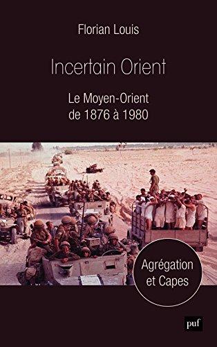 Incertain Orient