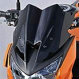 Estable Del Parabrisas A Prueba De Agua A Prueba De Polvo Accesorios De Seguridad De Instalación Sencilla Carenado De La Motocicleta En Forma Fit For Kawasaki Z800 ZR800 2013 2015 Parabrisas de motoci