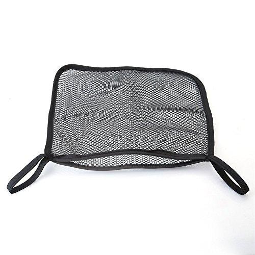 Rcdxing - 1 borsa organizer a rete per il passeggino o per l'automobile, colore: nero