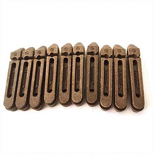 Pastillas de freno de goma para llantas de carbono Juego de ruedas de carbono, 8 piezas Campy