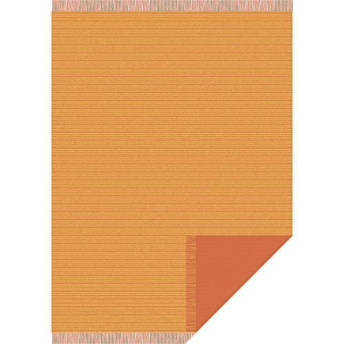 Ibena Sofaläufer Baumwollmischung terra Größe 50x200 cm