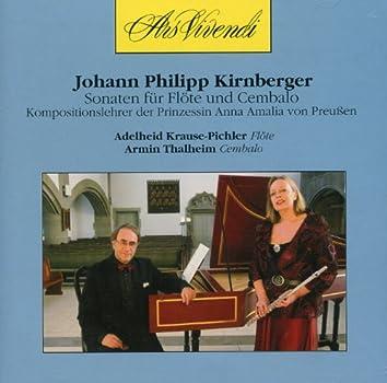 Kirnberger: Sonaten fur Flote und Cembalo