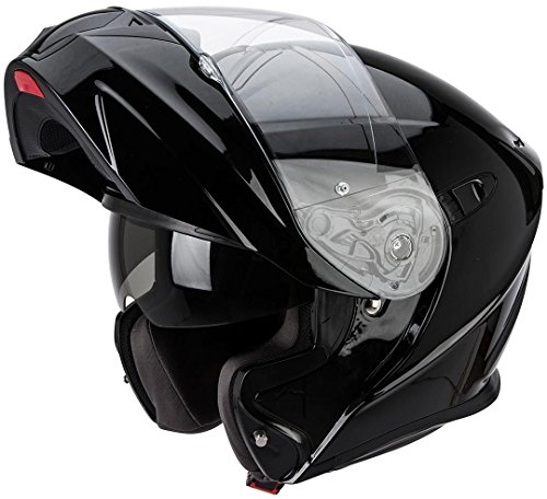 Scorpion 92-100-EXO-03-07 920 Solid Cáscara Funda de Policarbonato Inyectado, Color Negro
