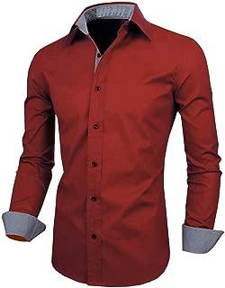 SRETAN Men Cotton Casual Shirt for Men Full Sleeves