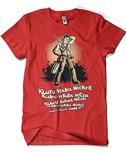 Camisetas La Colmena 1932-Camiseta Klaatu Barada Nikto (Saqman)