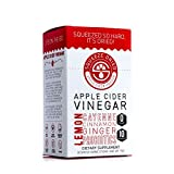 Squeeze Dried Apple Cider Vinegar Powder Sticks with Probiotics, Natural Detox Powder, Pocket Packs...