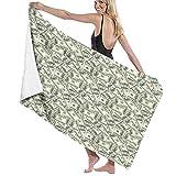 Toallas de baño, Billet de 100 dólares, Super Soft, Alto Absorbente, Manta de Toalla Grande para baño, Playa o Piscina, 52 'x32