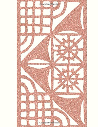 Guest Sign-In Book: Copper Embroidery Lace: Vacation Rental, Cabin, Condos, VRBO, Airbnb, B&B, Villa