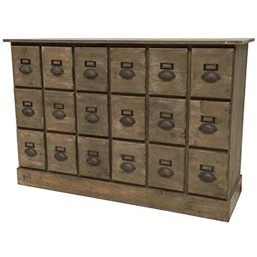 Mobile credenza cassettiera settimanale Cassettiera in legno 120cm