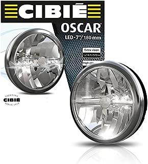 NEW BLACK & CHROME CIBIE OSCAR 7
