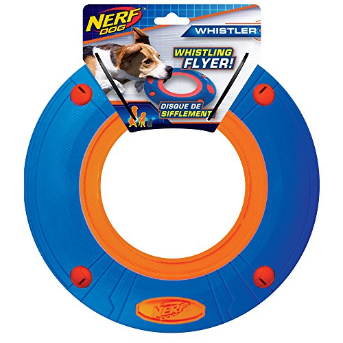 Nerf Dog 10in Atomic Howler - Blue/Orange
