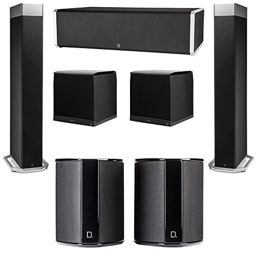 Learn More About Definitive Technology 5.2 System with 2 BP9080X Tower Speakers, 1 CS9060 Center Cha...