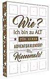 Adventskalender mit Pralinen Confiserie A. Bauer, Lauenstein - für Erwachsene - 300g