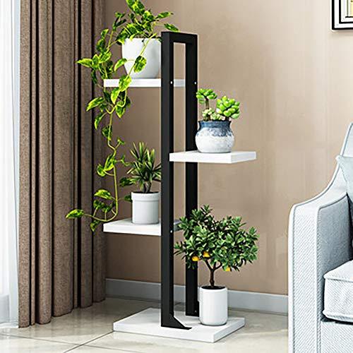 YXZQ Blumenständer, Hausgarten Pflanzenständer, Metall Blumentopfhalter Display Topfpflanzenhalter Rack Indoor & Outdoor für Home Decor