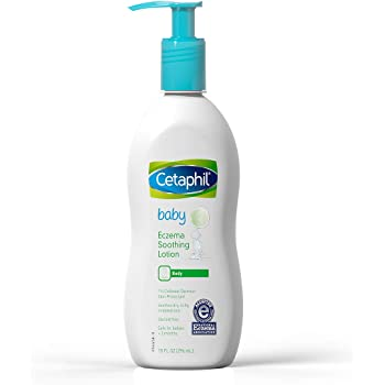 Cetaphil Baby Eczema Soothing Lotion with Colloidal Oatmeal | Dermatologist Recommended for Dry, Itchy and Irritated Skin | 10 Fl. Oz