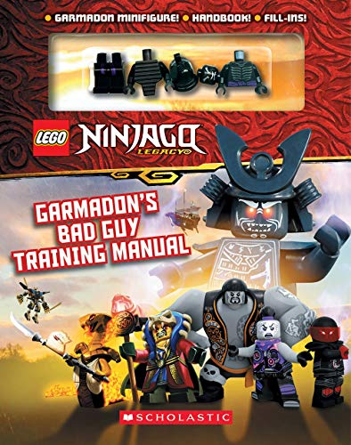 LEGO Ninjago: Garmadon's Bad Guy Training Manual (with Garmadon minifigure) (LEGO Ninjago - Masters of Spinjitzu)