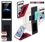 reboon Hülle für Oppo R7 Plus Tasche Cover Case Bumper | Rot | Testsieger