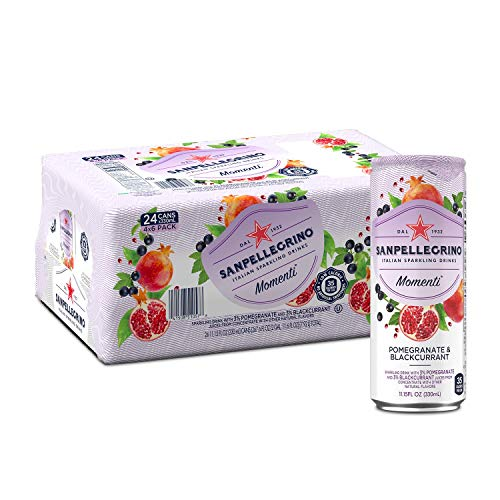 Sanpellegrino Momenti Pomegranate & Blackcurrant Cans 24-Pack Now $14.90 (Was $23.28)