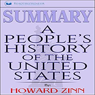 Summary: A People's History of the United States by Howard Zinn audiobook cover art