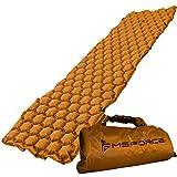 MSFORCE Camping Sleeping Pad. Inflatable Sleeping Mat for Camp Sleeping & Outdoor Sleeping. Ultralight, Durable Waterproof, Compact Mattress. 2020 Version.