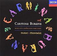CARMINA BURANA by MONTREAL SYMPHONY ORCHESTRA CHARLES DUTOITO (2014-08-03)