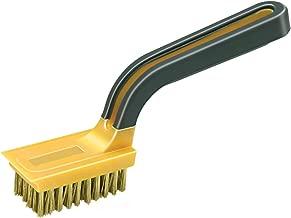 Allway Tools Soft Grip Wide Handle Brass Wire Stripper Brush