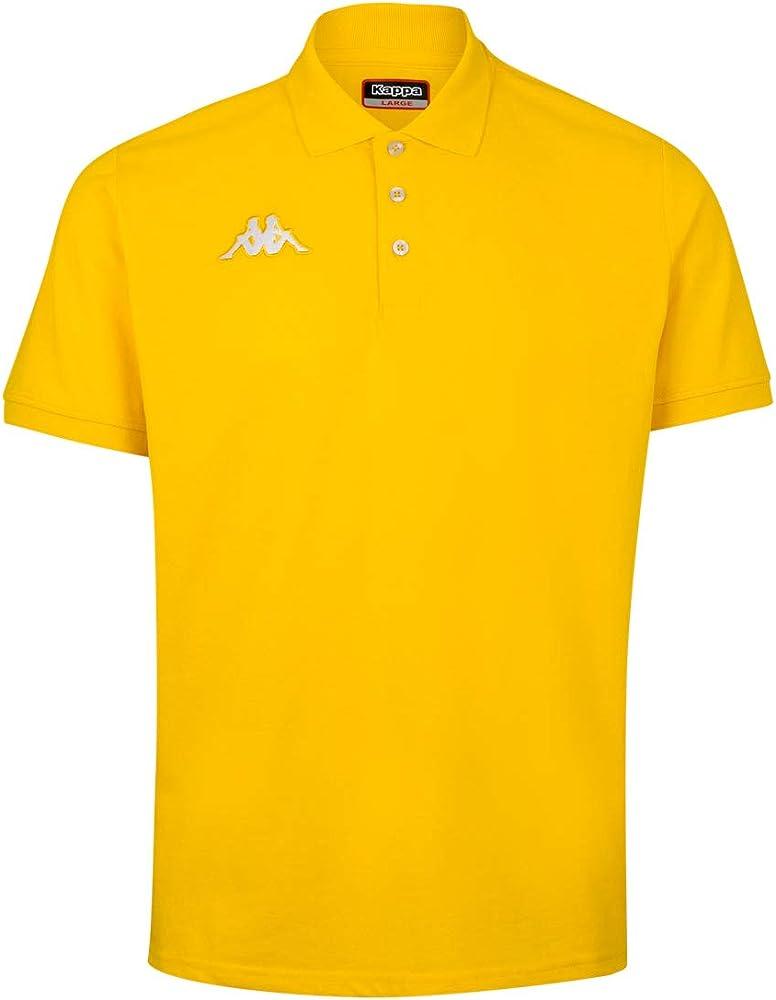 Robe di kappa peglio polo,maglietta a maniche corte per uomo,60% cotone, 40% poliestere 304TSD0_925_6YA