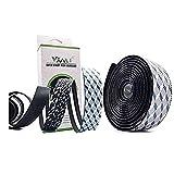VXM Road Bike Bicycle Handlebar Tapes,EVA Bicycle Bar Tape,Professional Cycling Damping Anti-Vibration Wrap with 2 Bar Plug