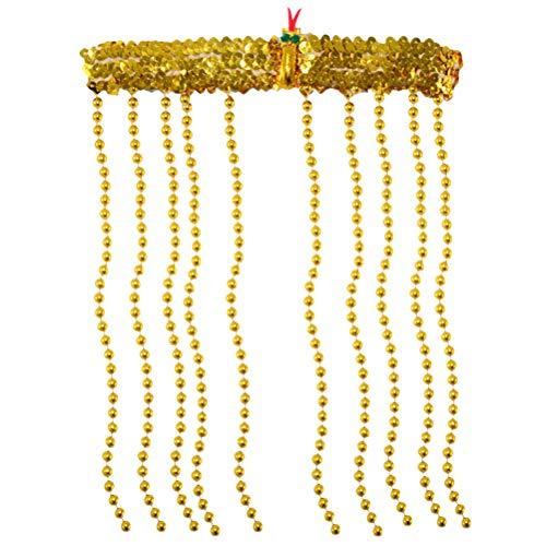BESTOYARD Copricapo a Fascia egiziana per Donna Copricapo Cleopatra Accessorio per Costume a Forma di Serpente