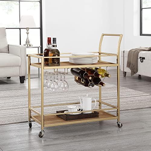 FirsTime & Co. Francesca Bar Cart, Gold