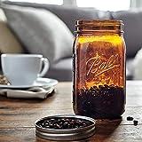 Ball Mason Jar-32 oz. Amber-One Jar-NEW COLOR !!!