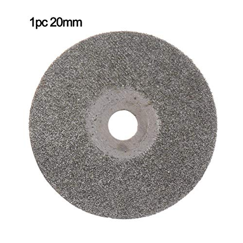 ZhuJinSheng Snijschijf 20-50mm Diamant Snijschijven Set Boor Mini Jade Steen Cirkelzaagblad Slijpen Gesneden Wiel Tegels Schurende Roterende Tool 1pc 20mm 1pc 20mm