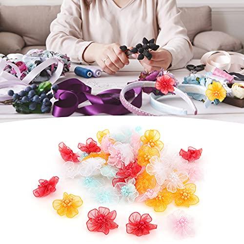QIRG Flores Artificiales, Flor Falsa Multiusos para pequeñas Horquillas Decoraciones y Manualidades para Decoraciones de Bodas Baby Showers Manualidades de Bricolaje