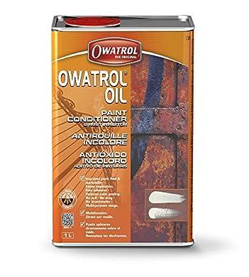 Foto di Owatrol OIL Owatrol-Rustol Ato antiruggine multifunzione Additivo per pittura (500ml con Pennello)