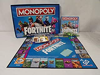 ORIGINAL Vintage 2018 Hasbro Fortnite Monopoly Board Game