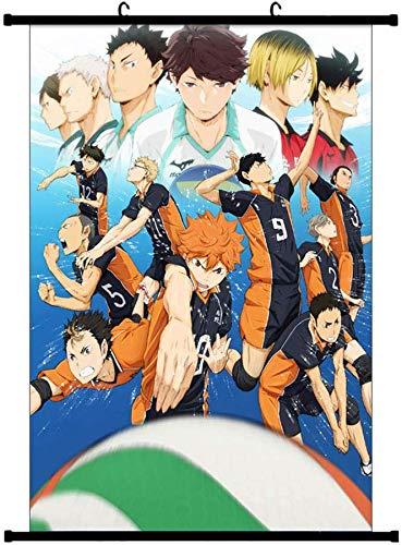 Anime Waterproof Impression Artistique D/écoration 60 x 90 cm H01 SGOT My Hero Academia Poster de Bakugou Katsuki Todoroki Shoto Scrollen Painting