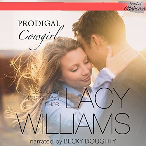 Prodigal Cowgirl audiobook cover art