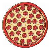 IAMZHL Piña Donut Tapiz de Playa Estera de Picnic Manta de Playa Baño para Sala de Estar Decorativo para el hogar-Pizza 02-b4