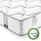 Twin Mattress Memory Foam 8 Inch, Inofia Cool Memory Foam Single Bed Mattress in a Box, CertiPUR-US Certified, Pressure Relief Comfy Body Support, No-Risk 100 Night Trial