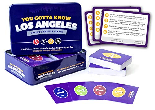 You Gotta Know Los Angeles - Sports Trivia Game
